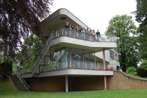 Exkursion zur Villa Schminke in Löbau. Foto: Franziska Rehde
