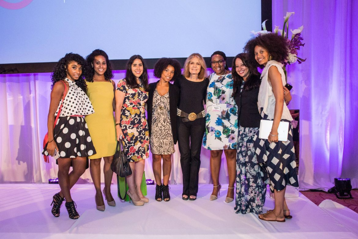 Gloria-Steinem-At-The-ColorComm-Conference