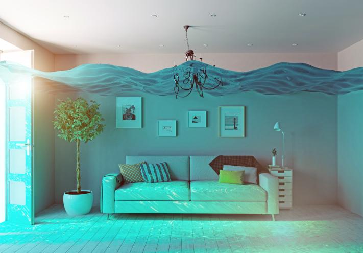 renters insurance underwater flooding interior