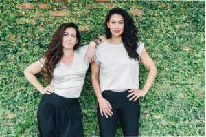 Founders Julia Ford-Carther and Rosario Chozas of BAMMIES