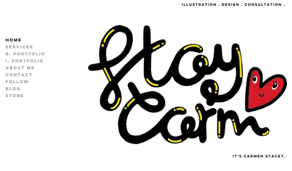 carmen stacey black web designers
