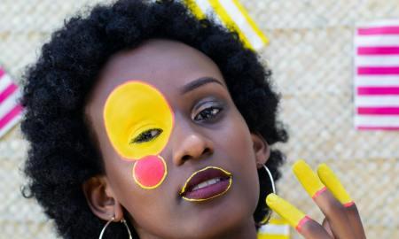 confident black woman