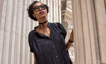 black woman sunglasses
