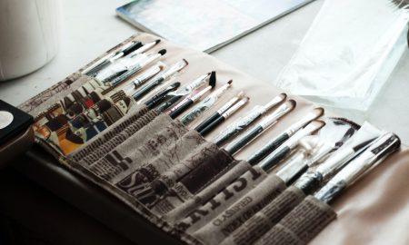 makeup artist brush set