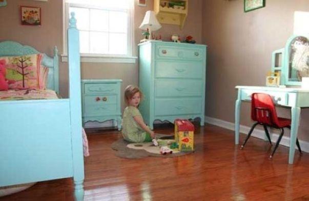 móveis retro coloridos