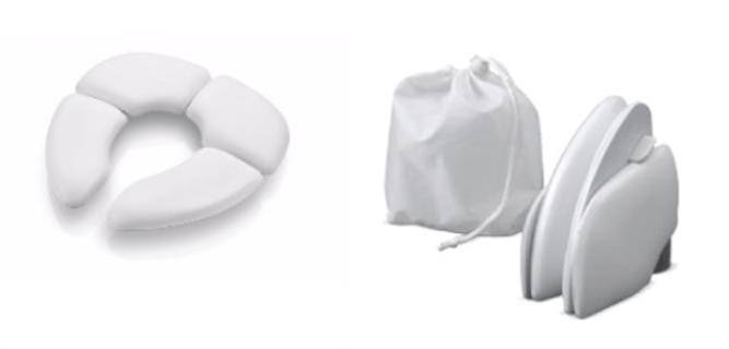 redutor de assento dobrável, item importante no processo de desfralde