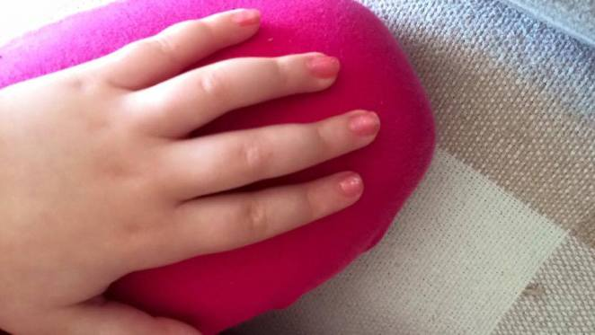 esmalte infantil