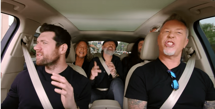 Metallica, Will Smith e Ariana Grande aparecem em trailer do novo Carpool Karaoke
