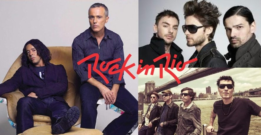 Rock in Rio confirma Tears for Fears, 30 Seconds to Mars e Capital Inicial