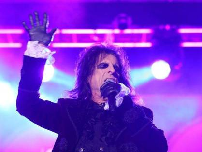 Existe show rock... e existe o show do Alice Cooper!