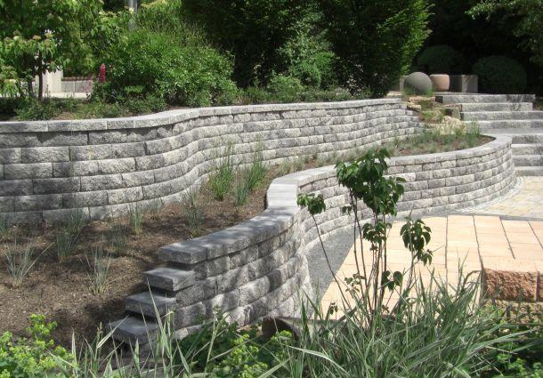 Gartenmauer: Pflanzsteine und andere Möglichkeiten der Abgrenzung