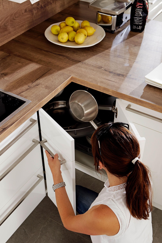 Kleine Küche platzsparend eingerichtet