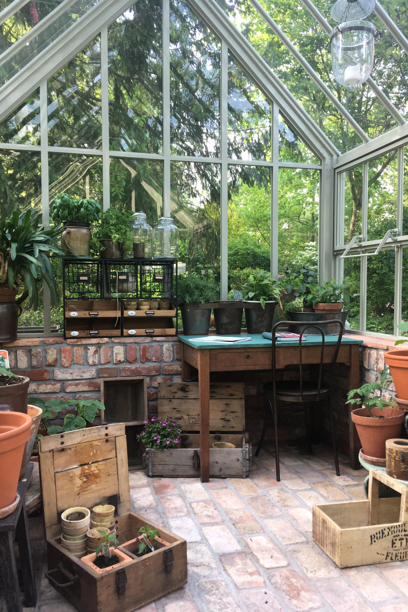 Um Pflanzen anzubauen oder die Seele baumeln zu lassen: Ein Viktorianisches Gewächshaus bietet Platz für vielerlei.