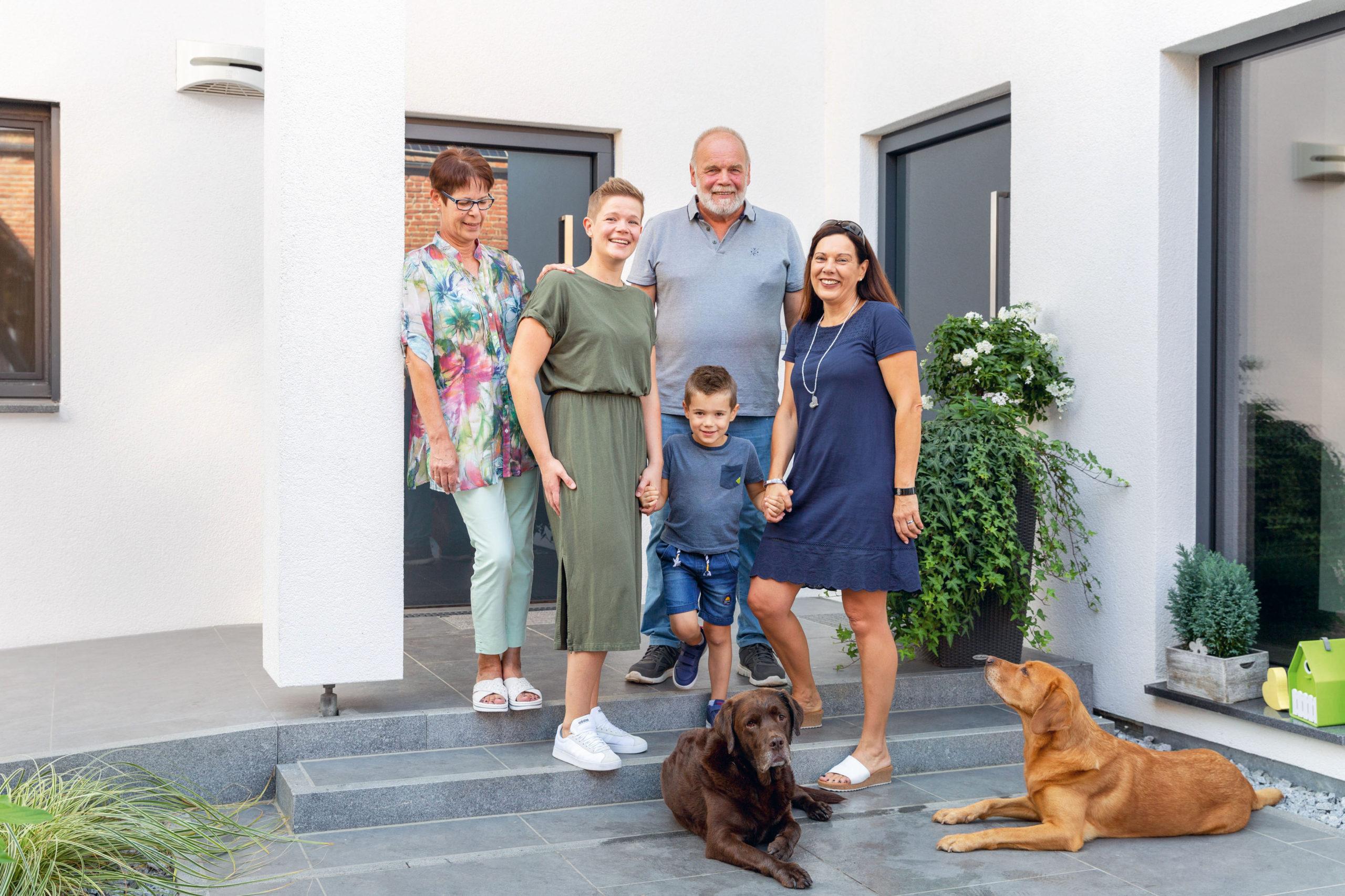 energieeffiziente Häuser für die ganze Familie