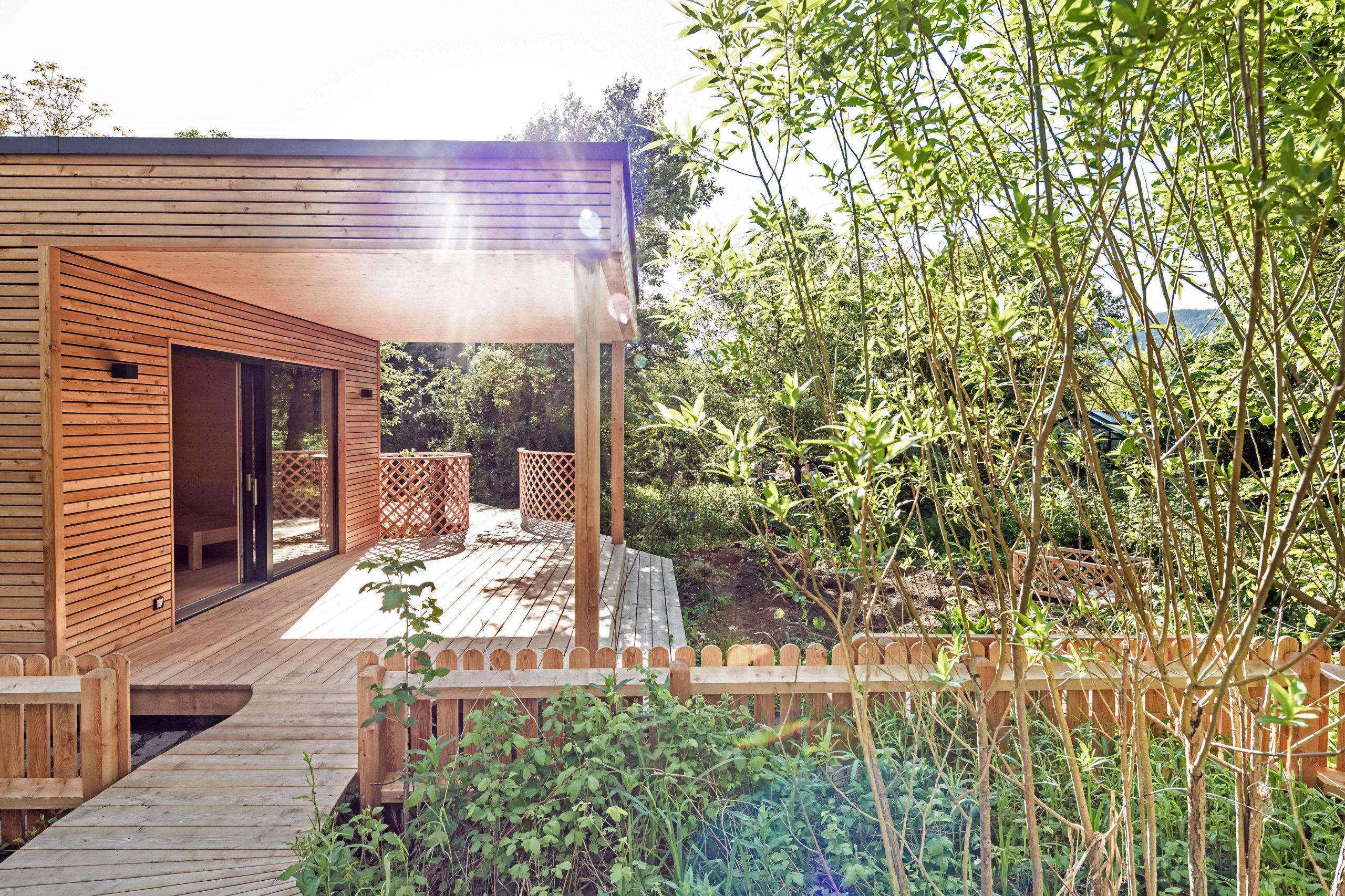 Holzmassivhäuser sind umweltfreundlich
