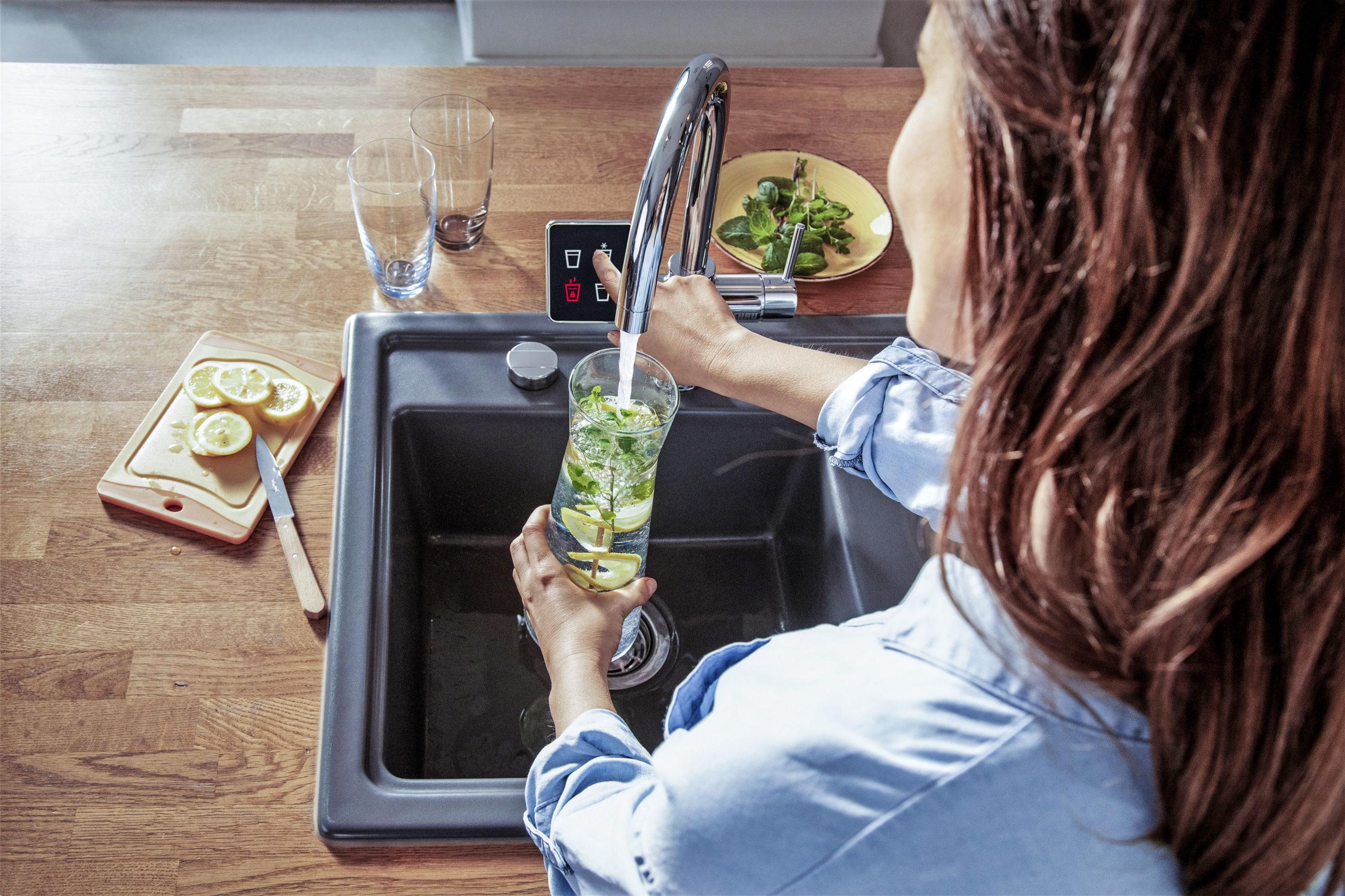 Leitungswasser auf Knopfdruck zubereiten