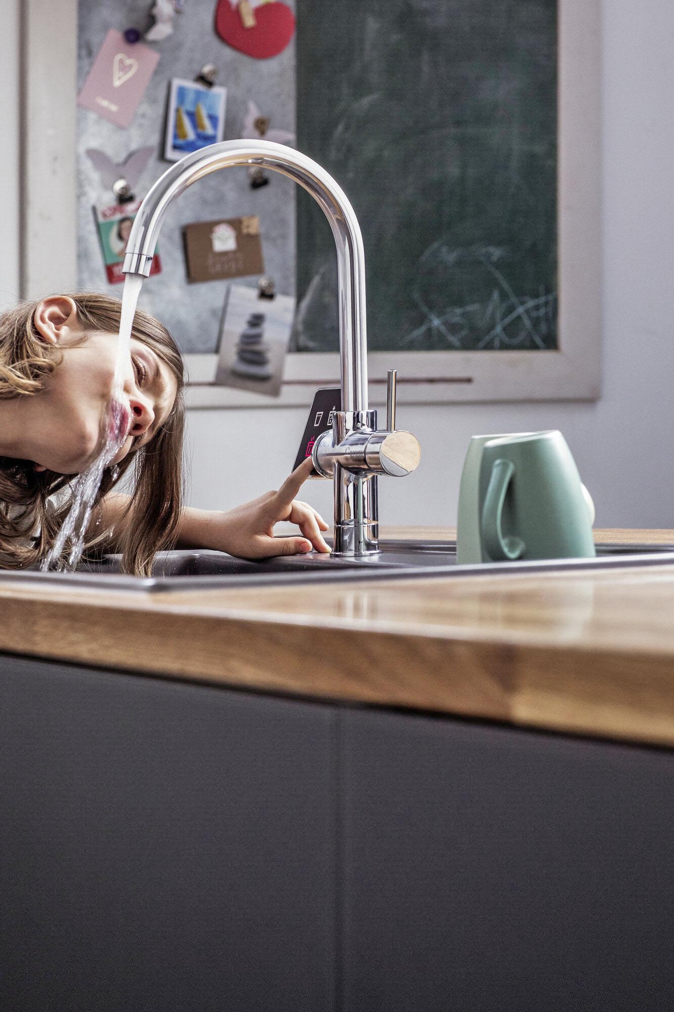 Trinkwasserarmaturen für gefiltertes Wasser