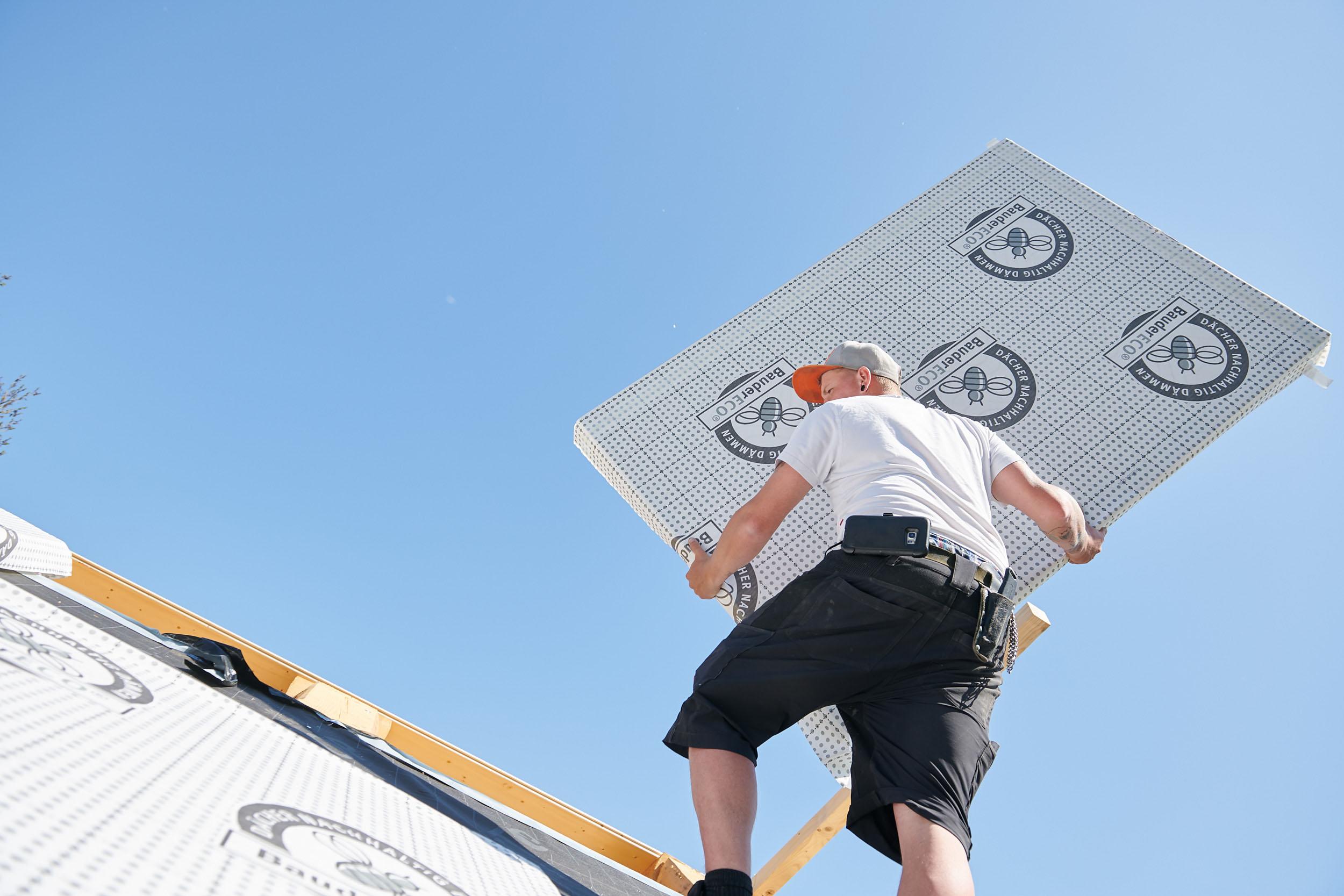 Dämmung aufbringen für das Dachgeschoss