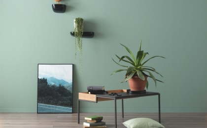 Gestaltung in Grün