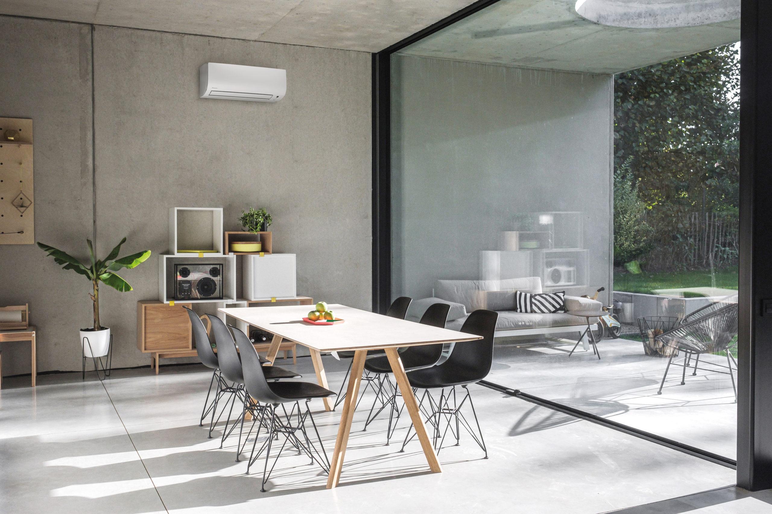 Klimaanlage im Wohnbereich