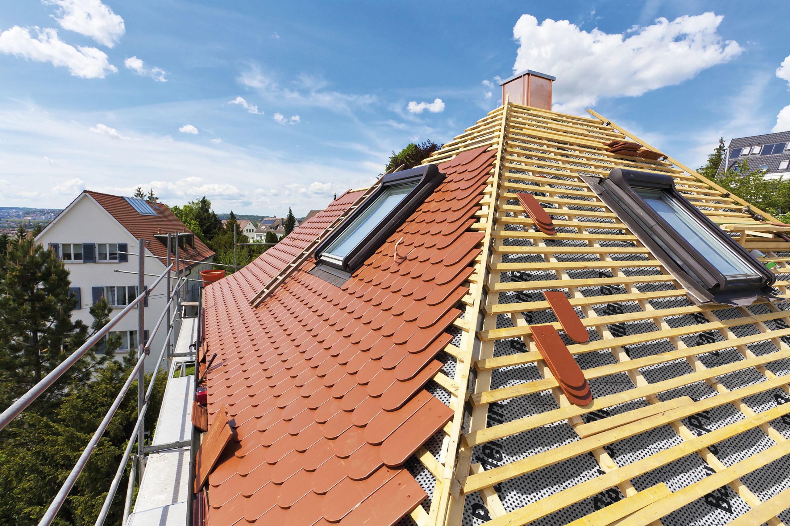 Klimafreundlich das Dach sanieren