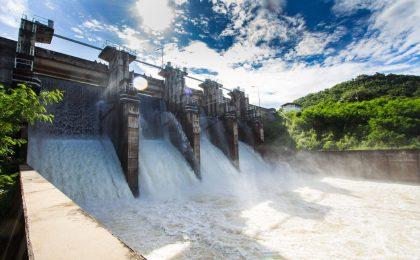 Wasserkraftwerk erzeugt Ökostrom