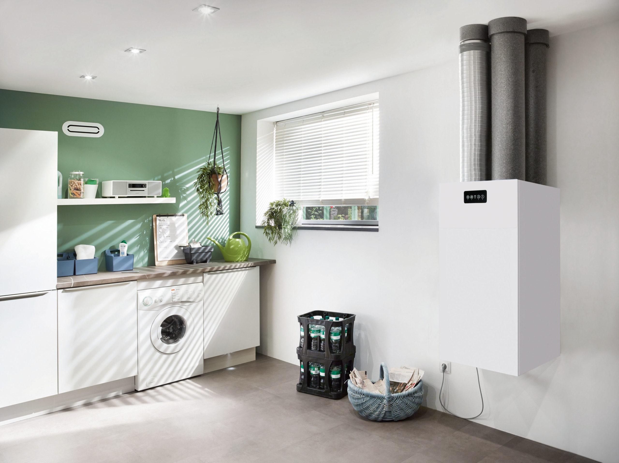 Wohnraumlüftung in der Küche