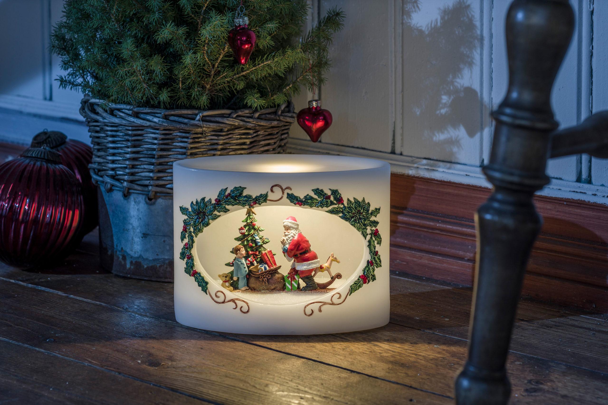 Lichtdeko für die Adventszeit