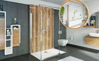 barrierefreie Badezimmerrenovierung