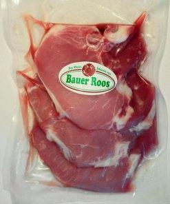 3 Lummerkoteletts vom Rheinschwein – Bauer Roos