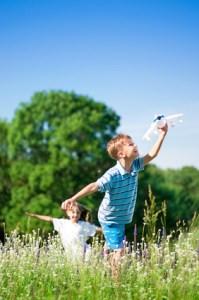 Familienurlaub, Zeltnerhof, Kinder spielen