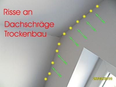 Super Risse im Putz und Mauerwerk - Bausachverständiger - BAUGUTACHTER OK75