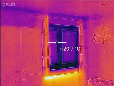 Bauabnahme Wohnung Wärmverluste prüfen, Beratung Fenstergutachter, Doppelkastenfenster
