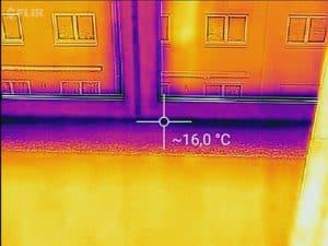Bauabnahme Eigentumswohnung KFW Wärmebilder Wärmedämmung