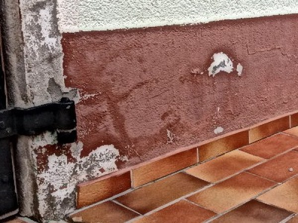 Gutachten zuWasserschaden-Frostschaden Putzabplatzungen Farbabplatzungen Bausachverständiger Schiedsgutachter
