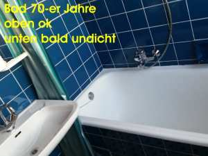 ursache schimmelpilz in der wohnung altes Bad 70-ger Jahre