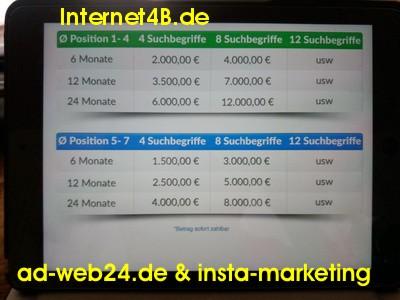 Betrug ? ad-web24.de & insta-marketing.de & Internet4B.de search-and-find-simply.de ThreeSixtyPictures; www.concilio-marketing.de; www.phoenixtour.de;JR WORLD BUSINESS GMBH