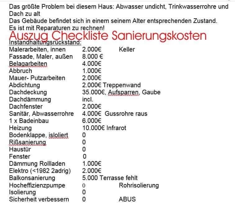 Checkliste Hauskauf Besichtigung : hauskauf checkliste altbau gebrauchtes haus kaufen ~ Watch28wear.com Haus und Dekorationen