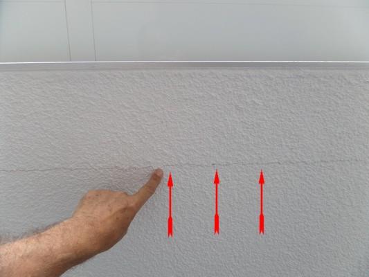 Gewährleistungsbegehung Putzrisse im Treppenhaus Ablauf der Gewährleistung von 5 Jahren