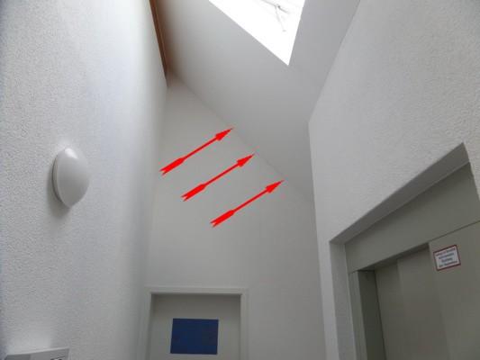 Gemeinschaftseigentum Innenenputz Putzrisse Baugutachten Baugutachter Beweissicherung Gutachter Estrich Gutachter Experte Flachdach