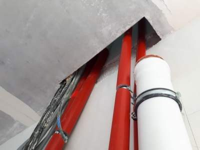 Prüfung Schallschutz Rohinstallation der Sanitär, Heizung und Elektroarbeiten, Einfamilienhaus, EFH, DHH