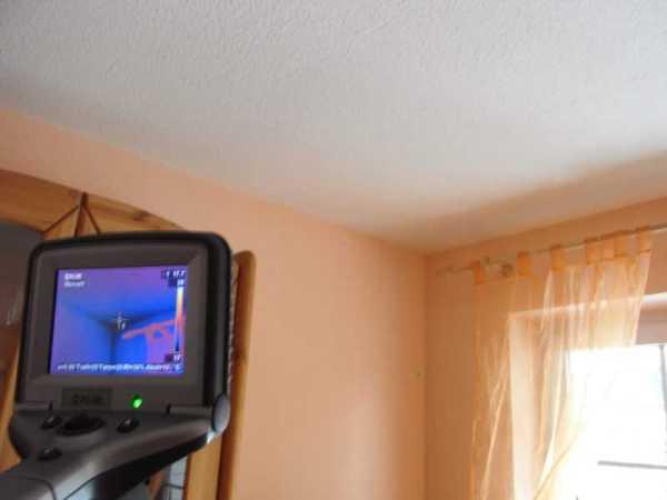 Wärmebilder Thermografie Infrarotkamera, beweissicherung