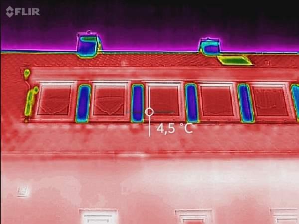 Wärmebilder Thermografie Infrarot Bayern