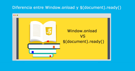 Diferencia entre Window.onload y document ready