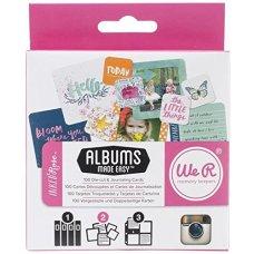 We R Memory Keepers Instagram AME Inked Rose Journaling Cards