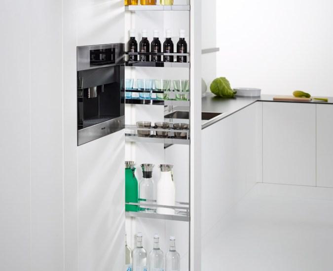 Nowe, fantastyczne wąskie systemy wysokich szuflad odfirmy Kesseböhmer!