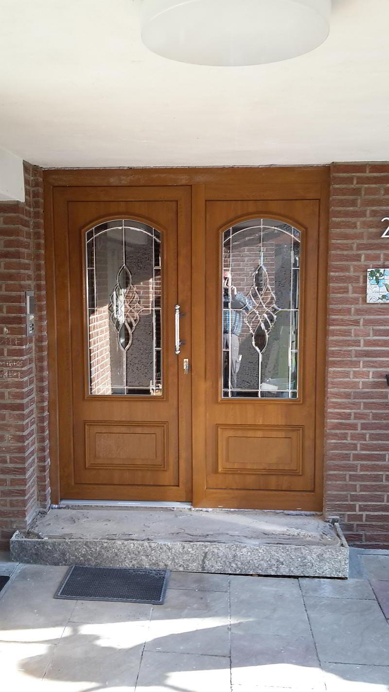 Holz-Eingangstür, Baumeister&Kremer