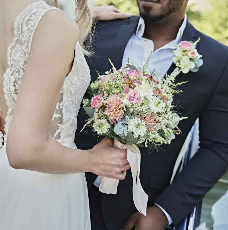 Hochzeit, hochzeitsblumen, brautstrauß, Anstecker