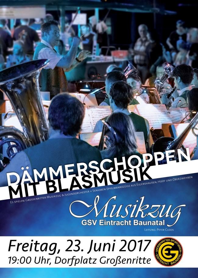 Nachrichten Baunatal,Veranstaltung Baunatal 23.6.2017, Musikzug GSV Eintracht Baunatal,