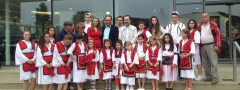Albanische Kinderfolkloregruppe